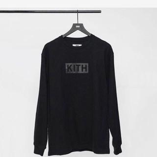 新品未開封 Kith Box Logo Triple Black L/S(Tシャツ/カットソー(七分/長袖))