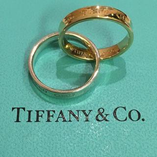 ティファニー(Tiffany & Co.)の【専用商品】ティファニー インターロッキング コンビリング K18×925(リング(指輪))