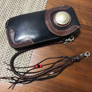 レッドムーン(REDMOON)のNRS様★レッドムーン エボリューション02黒(財布)