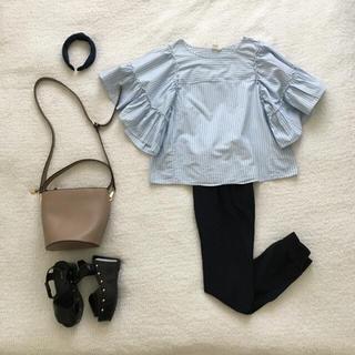 ギャップ(GAP)のGAP♡ボリューム袖オーバーサイズブラウス美品(シャツ/ブラウス(半袖/袖なし))