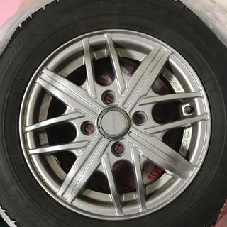 グッドイヤー(Goodyear)のスタッドレス  145/80R13 4本セット(タイヤ・ホイールセット)