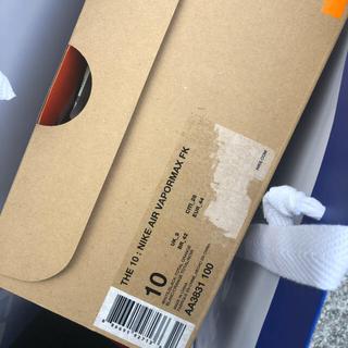オフホワイト(OFF-WHITE)のoff-white NIKE ヴェイパーマックス 28cm(スニーカー)