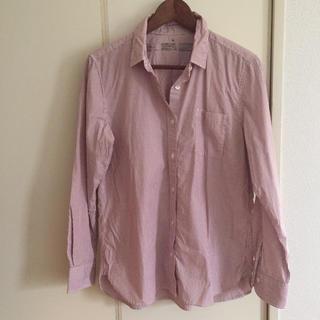 ムジルシリョウヒン(MUJI (無印良品))のもも☆様専用 新品未使用♡無印 ストライプコットンシャツ (シャツ/ブラウス(長袖/七分))