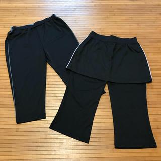 ジーユー(GU)の値下げしました❗️guスポーツ/膝下丈パンツ*2枚セット(ウェア)