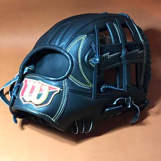 ウィルソンスタッフ(Wilson Staff)のウィルソン 硬式 内野手用 WTAHWRDKT ブラック 新品 (グローブ)