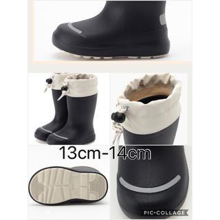ムジルシリョウヒン(MUJI (無印良品))の無印 レインシューズ 13-14cm(長靴/レインシューズ)