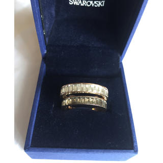 スワロフスキー(SWAROVSKI)のmarinko様 スワロフスキー 指輪 リング 2本セット(リング(指輪))