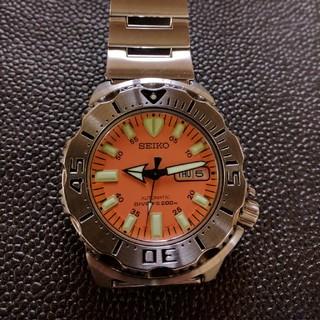 セイコー(SEIKO)の美品 セイコー オレンジモンスター ダイバー(腕時計(アナログ))