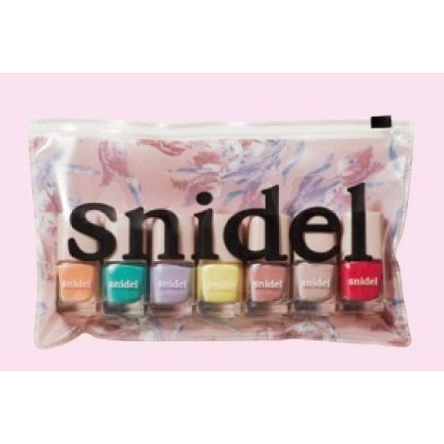 snidel(スナイデル)のスナイデル ネイルセット コスメ/美容のネイル(ネイル用品