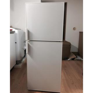 ムジルシリョウヒン(MUJI (無印良品))の無印良品 ノンフロン2ドア冷蔵庫 137L(冷蔵庫)