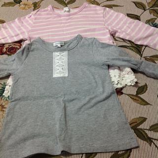 サンカンシオン(3can4on)のサンカンシオン シャツ セット 120(Tシャツ/カットソー)