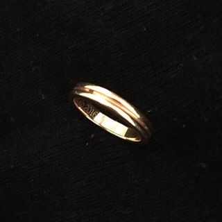 ブシュロン(BOUCHERON)のBOUCHERON ゴドロン リング(リング(指輪))
