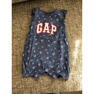 ベビーギャップ(babyGAP)の美品♡ベビーギャップ ロンパース 3-6M(ロンパース)