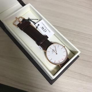 ダニエルウェリントン(Daniel Wellington)のDW watch (レザーベルト)