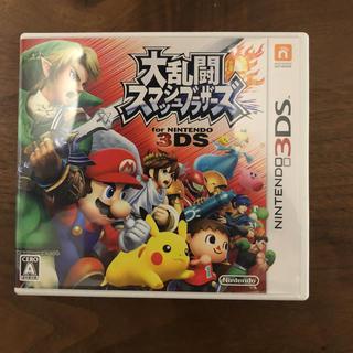 ニンテンドー3DS(ニンテンドー3DS)の任天堂3DS大乱闘スマッシュブラザーズ、スマブラ(家庭用ゲームソフト)
