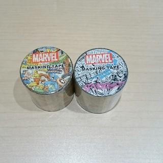 マーベル(MARVEL)のMARVELマスキングテープ 2個(テープ/マスキングテープ)