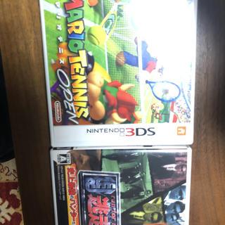 ニンテンドー3DS(ニンテンドー3DS)のマリオテニス&逃走中(家庭用ゲームソフト)