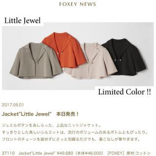 """フォクシー(FOXEY)の新品タグ付【FOXEY】Jacket""""Little Jewel""""(テーラードジャケット)"""