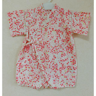 cf34f7c3a7185 ニシマツヤ(西松屋)の美品 甚平 ロンパース 70 (甚平 浴衣)