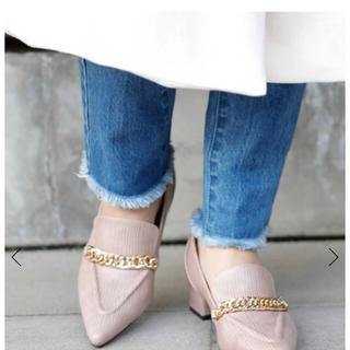 エイミーイストワール(eimy istoire)のeimyistoire グレインチェーンローファー(ローファー/革靴)