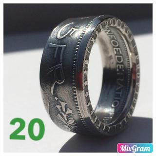 スイスフランリング 指輪  1968年 外国硬貨加工(リング(指輪))