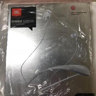 ジェイビーエス(JBS)のJBL EVEREST ELITE 100 白 イヤホン bluetooth(ヘッドフォン/イヤフォン)