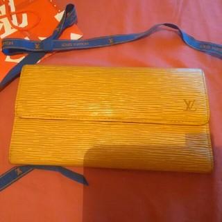 ルイヴィトン(LOUIS VUITTON)の正規品 ヴィトンエピ💝イエロー×パープル(財布)