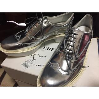 エンフォルド(ENFOLD)のENFOLD 革靴 ウィングチップシューズ ドレスシューズ(ローファー/革靴)