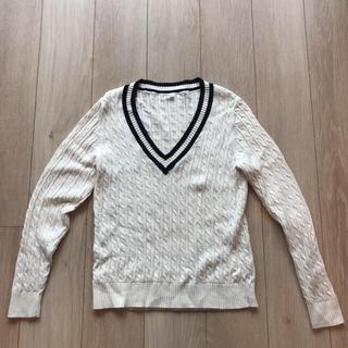 ムジルシリョウヒン(MUJI (無印良品))のケーブルニットセーター(ニット/セーター)