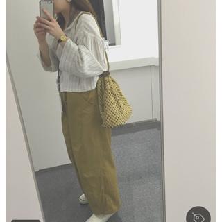 カスタネ(Kastane)のま 様 専用!!Kastane リネンストライプシャツ(シャツ/ブラウス(半袖/袖なし))
