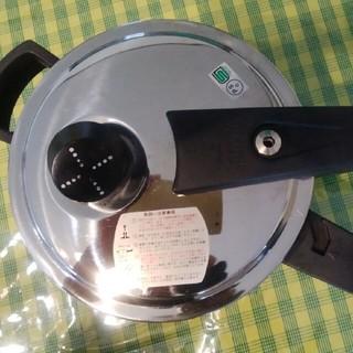 ワンダーシェフ(ワンダーシェフ)の片手圧力鍋2.5l(調理道具/製菓道具)