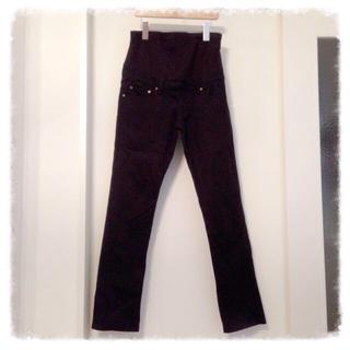 ムジルシリョウヒン(MUJI (無印良品))の無印良品♡マタニティ黒パンツ(マタニティウェア)