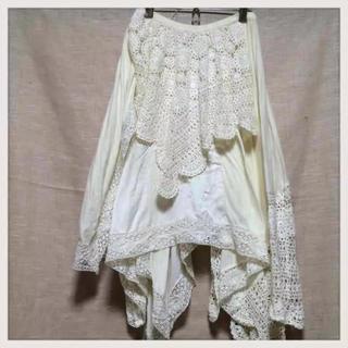 ナンバージュウイチ(n゜11)のナンバー11  変形スカート 個性的  (ロングスカート)