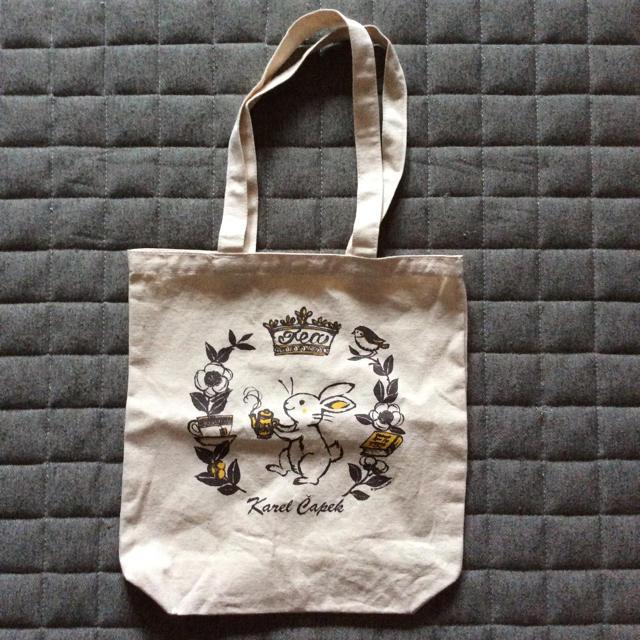 新品♡ カレルチャペック紅茶店 トートバッグ レディースのバッグ(トートバッグ)の商品写真