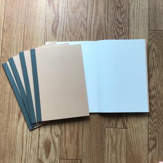 ムジルシリョウヒン(MUJI (無印良品))の12冊 無印良品  ノート  B5 横掛 セット (ノート/メモ帳/ふせん)