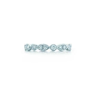 ティファニー(Tiffany & Co.)のリユースレア♥ティファニー ジャズフルサークルリング 8号(リング(指輪))