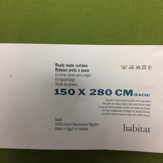 ハビタット(Habitat)の未使用品!habitat  カーテン(カーテン)
