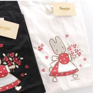 スピンズ(SPINNS)のニゴスピ♡サンリオTシャツ M【新品】マロンクリーム(その他)