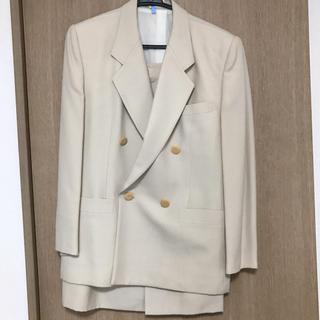 バーバリー(BURBERRY)の【美品】バーバリー レディーススーツ オフホワイト色(スーツ)