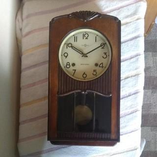 セイコー(SEIKO)の精工舎・ゼンマイ振り子時計(掛時計/柱時計)