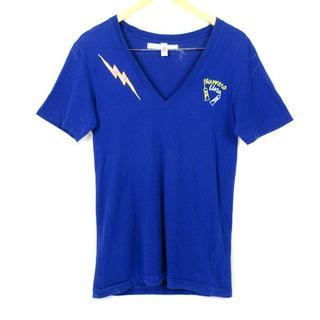 ヌメロウーノ(NUMERO UNO)のヌメロウーノ 刺繍 Vネック Tシャツ sizeS/Numero Uno(Tシャツ/カットソー(半袖/袖なし))