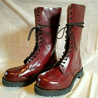 ゲッタグリップ(GETTA GRIP)のゲッタグリップ  英国製  スチールトゥ 美品 14ホール(ブーツ)