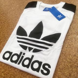 アディダス(adidas)の【XLサイズ・新品・未使用】特別価格‼️ アディダス オリジナルス Tシャツ 白(Tシャツ/カットソー(半袖/袖なし))