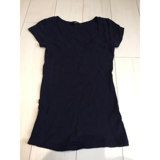 デュラス(DURAS)のデュラス Tシャツ 紺(Tシャツ(半袖/袖なし))