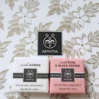 アピヴィータ(APIVITA)のアピヴィータ☆αナチュラルソープJ R&B 2つセット APIVITA(洗顔料)