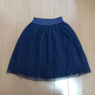 ジーユー(GU)のGU GIRLS チュールスカート120(スカート)