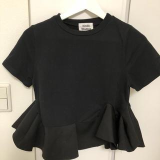 ルシェルブルー(LE CIEL BLEU)のbirthday bash ペプラムTシャツ(Tシャツ(半袖/袖なし))