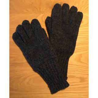 ムジルシリョウヒン(MUJI (無印良品))の美品 無印良品 シンサレート 手袋 紳士用(手袋)