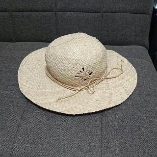 ムジルシリョウヒン(MUJI (無印良品))の無印良品☆ベビーキッズ  麦わら帽子(帽子)