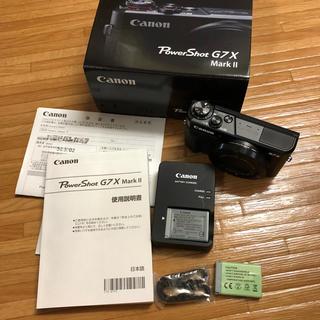 キヤノン(Canon)のCanon PowerShot G7 X Mark II キャノン(コンパクトデジタルカメラ)